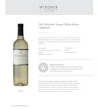 2017 Windsor Vineyards Fusion White, California