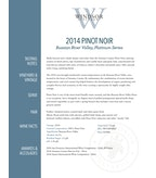 2014 Windsor Vineyards Pinot Noir, Platinum Series, Russian River Valley