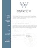 2015 Windsor Vineyards Pinot Grigio, Private Reserve, North Coast