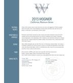 2015 Windsor Vineyards Viognier, Platinum Series, California