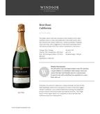 Windsor Vineyards Brut Rose, Platinum Series, California