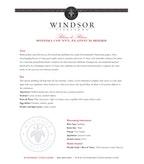 Windsor Vineyards Blanc de Blanc, Platinum Series, Sonoma County