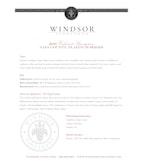 2010 Windsor Vineyards Cabernet Sauvignon, Platinum Series, Napa County