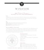 2010 Windsor Vineyards Cabernet Sauvignon, Private Reserve, Sonoma County