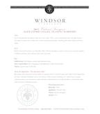 2013 Windsor Vineyards Cabernet Sauvignon, Platinum Series, Alexander Valley