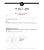2013 Windsor Vineyards Cabernet Sauvignon, California