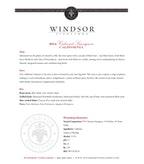 2014 Windsor Vineyards Cabernet Sauvignon, California
