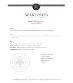 2012 Windsor Vineyards Chardonnay, California (Half Bottle)