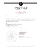 2011 Windsor Vineyards Chenin Blanc, California