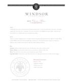 2012 Windsor Vineyards Chenin Blanc, California