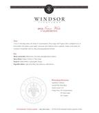 2012 Windsor Vineyards Fusion White, California