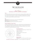 2010 Windsor Vineyards Meritage, Platinum Series, Sonoma County