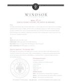 2010 Windsor Vineyards Merlot, Platinum Series, Alexander Valley