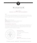 2010 Windsor Vineyards Merlot, Private Reserve, Sonoma County