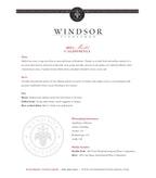 2011 Windsor Vineyards Merlot, California