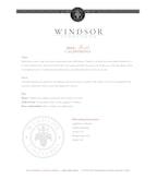2012 Windsor Vineyards Merlot, California