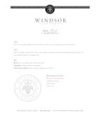 2012 Windsor Vineyards Merlot, California (Half Bottle)