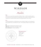 2013 Windsor Vineyards Merlot, California