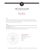 2011 Windsor Vineyards Moscato, California