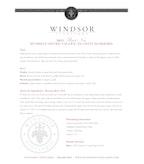 2011 Windsor Vineyards Pinot Noir, Platinum Series, Russian River Valley