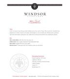 2011 Windsor Vineyards Syrah, California