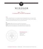 2011 Windsor Vineyards Viognier, Platinum Series, California