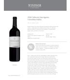 2016 Windsor Vineyards Cabernet Sauvignon, Private Series, Columbia Valley
