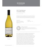 2017 Windsor Vineyards Chardonnay, Columbia Valley