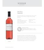 2017 Windsor Vineyards Rose Wine, California