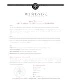 2013 Windsor Vineyards Zinfandel, Platinum Series, Dry Creek Valley