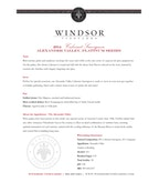 2014 Windsor Vineyards Cabernet Sauvignon, Platinum Series, Alexander Valley