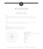 2015 Windsor Vineyards Chardonnay, California (Half Bottle)