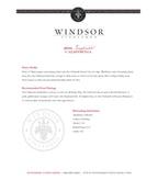 2010 Windsor Vineyards Zinfandel, California