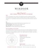 2010 Windsor Vineyards Zinfandel, Platinum Series, Dry Creek Valley