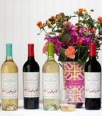 Wine Sisterhood Wine Family with Flowers